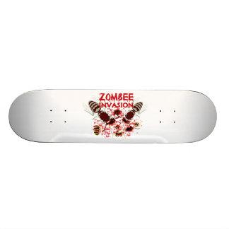 Invasion des Zombees Skateboarddeck