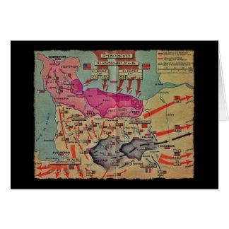 Invasionstag-Landungen sortierten Bilder Karte