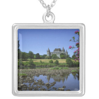 Inverary Schloss, Strathclyde, Schottland Versilberte Kette
