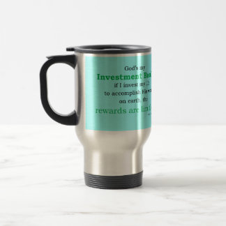 Investmentbanker Reisebecher