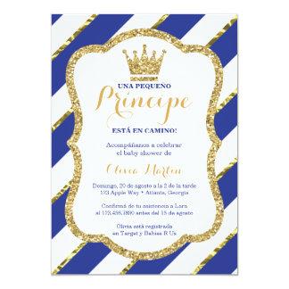 Invitación De-Babypartypara-UNO príncipe Karte