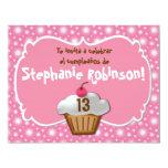 Invitaciones de Cumpleaños, kleiner Kuchen Fiesta 10,8 X 14 Cm Einladungskarte