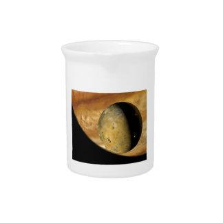 Io und Jupiter Krug