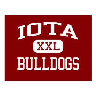 Iota - Bulldoggen - Senior - Iota Louisiana Postkarte