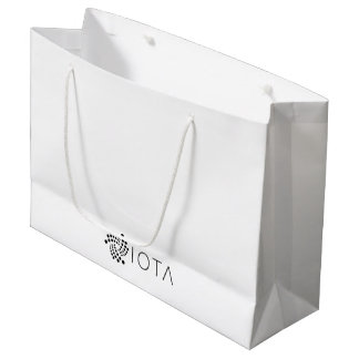 Iota-Geschenk-Tasche Große Geschenktüte