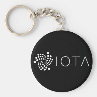 Iota grundlegendes Keychain (Schwarzes) Schlüsselanhänger