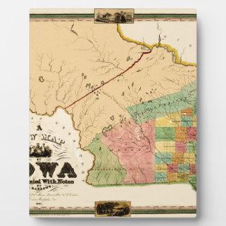 Iowa 1845 fotoplatte