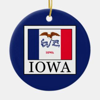 Iowa Keramik Ornament