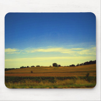 Iowa-Landschaft Mousepads