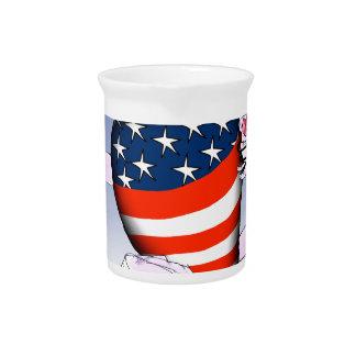 Iowa laute und stolz, tony fernandes getränke pitcher