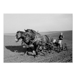 Iowa-Mais-Pflanzer, Vierzigerjahre Poster