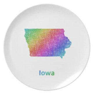 Iowa Melaminteller