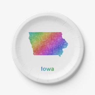 Iowa Pappteller