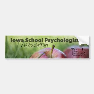 Iowa-Schule Psych. Assoc. Autoaufkleber