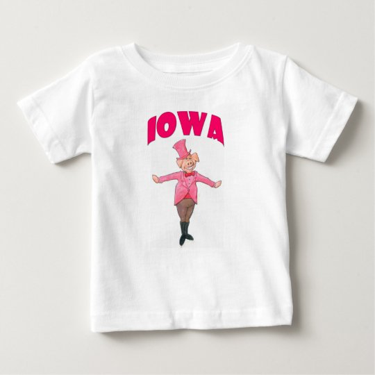 Iowa-Schwein Baby T-shirt