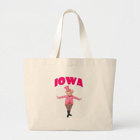 Iowa-Schwein Jumbo Stoffbeutel