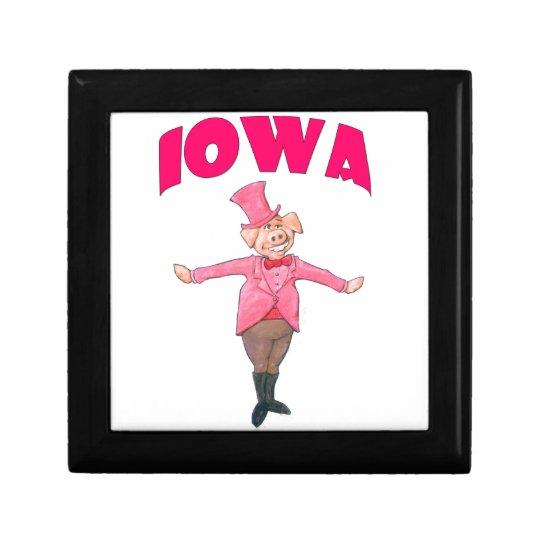 Iowa-Schwein Schmuckschachtel