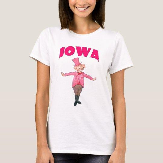 Iowa-Schwein T-Shirt
