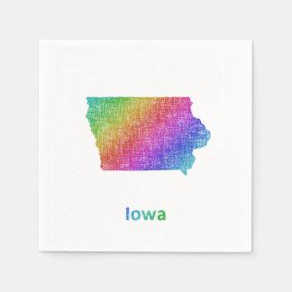 Iowa Servietten
