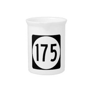 Iowa-Staats-Weg 175 Getränke Pitcher