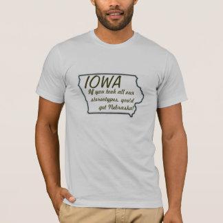 Iowan Stereotypen T-Shirt