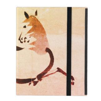 iPad 2/3/4 Fall ohne Kickstand Chinese-Pferd iPad Schutzhülle