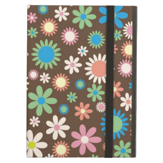 iPad Air ケース Retro Hippie-Blumen
