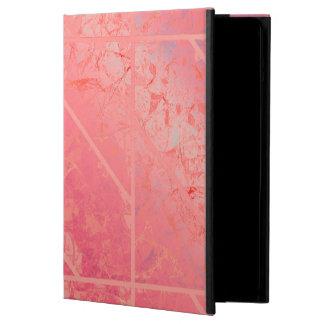 iPad Air ケース rosa Marmorbeschaffenheit