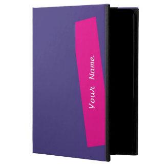 iPad Airfoliofall-festes lila und heißes Rosa