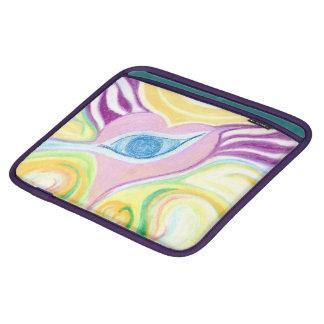 iPad Fall-Augen-Herz-Entwurf iPad Sleeves