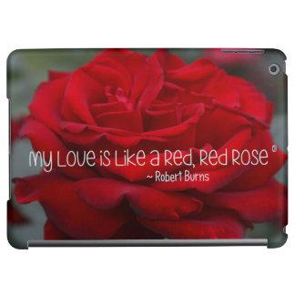iPad Fall meine Liebe-Rote Rose