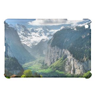 iPad Fall mit einer schönen die Schweiz-Landschaft iPad Mini Hülle