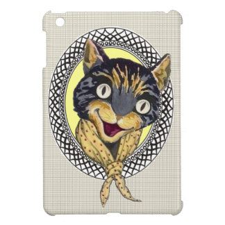 Ipad Miniabdeckung mit lachender Katze iPad Mini Hülle