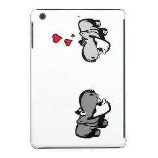 iPad Minifall, kaum dort - Flusspferd in der Liebe iPad Mini Retina Hüllen