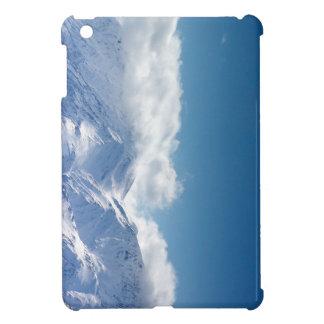 iPad Minifall mit Foto von schneebedeckter iPad Mini Hülle
