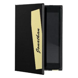 iPad Minifoliofall, dreifacher Streifen, TAN u. iPad Mini Etui