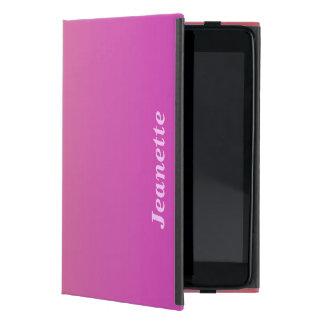 iPad Minifoliofall, Pink zum Pfirsich verblassen iPad Mini Schutzhülle