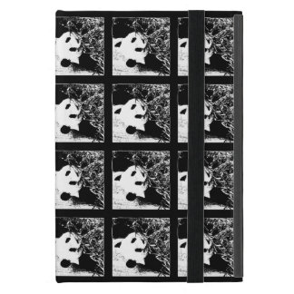 iPad Minifoliofall, riesiger Panda, Pop-Kunst B&W Etui Fürs iPad Mini