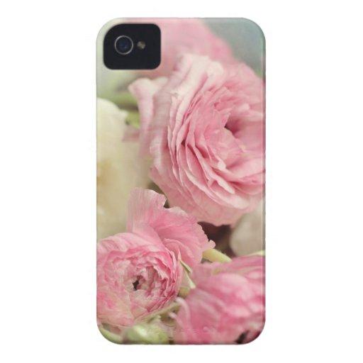 iphone4-4s Fallrosa Ranunculus-Blumen iPhone 4 Case-Mate Hüllen