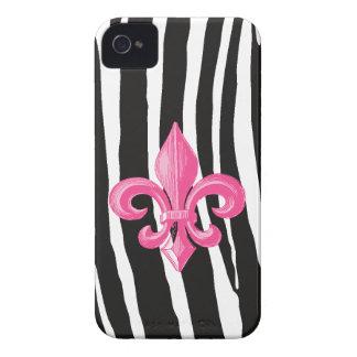 iPhone4/4s Identifikations-Fall - Zebra-u. heißes iPhone 4 Cover