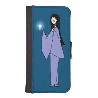 iPhone5/5s Kimono-Frauen-Fall iPhone SE/5/5s Geldbeutel