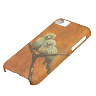 iphone5 ROK ES KUNST Fall-Blau-Kanarienvogel iPhone 5C Hülle