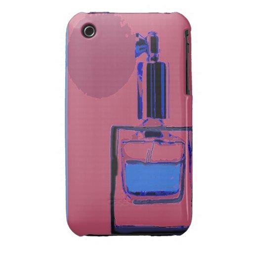 iPhone 3 Fallrosa mit Parfümflasche Case-Mate iPhone 3 Hülle