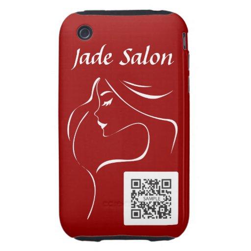 iPhone 3G/3Gs Fall-Schablonen-Jade-Salon iPhone 3 Tough Etuis