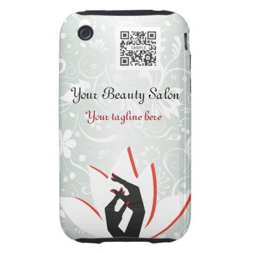 iPhone 3G/3Gs Fall-Schablonen-Nagel-Salon iPhone 3 Tough Cover