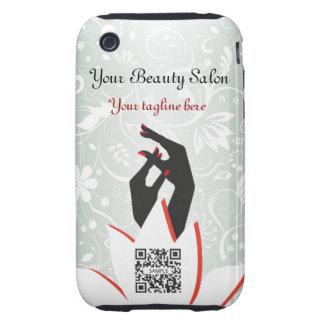 iPhone 3G/3Gs Fall-Schablonen-Nagel-Salon iPhone 3 Tough Hülle