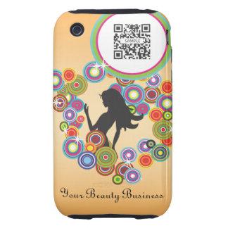 iPhone 3G/3Gs Fall-Schablonen-Parfüm-Blasen iPhone 3 Tough Hülle