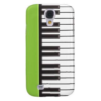iPhone 3G Fall - Klavier-Schlüssel auf Limonem Galaxy S4 Hülle