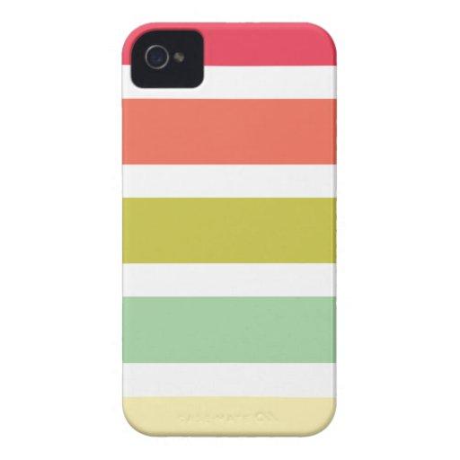 iPhone 4/4s Fall mit bunten Streifen iPhone 4 Hülle