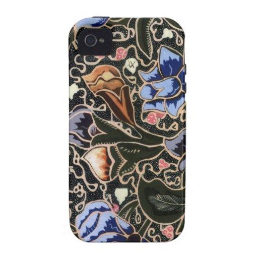 iphone 4/4s Fall mit einzigartigem Batik iPhone 4/4S Hülle